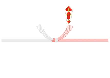 紅白十本結び切り・熨斗あり