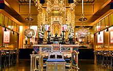 アメリカ 西本願寺ロサンゼルス別院様 仏具修復